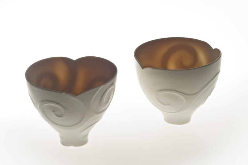 Shellac bowl